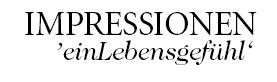 Logo von Impressionen