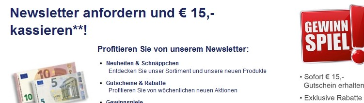Quelle Newsletter