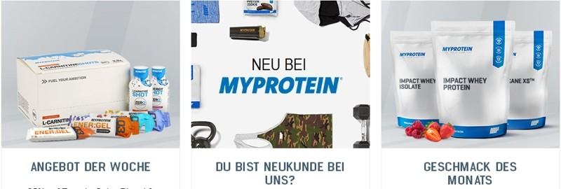 myprotein Produktvielfalt