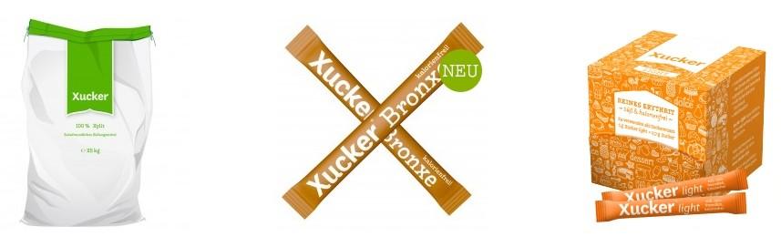Xucker Produktvielfalt