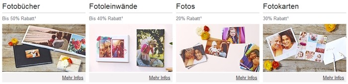 Photobox Produktvielfalt