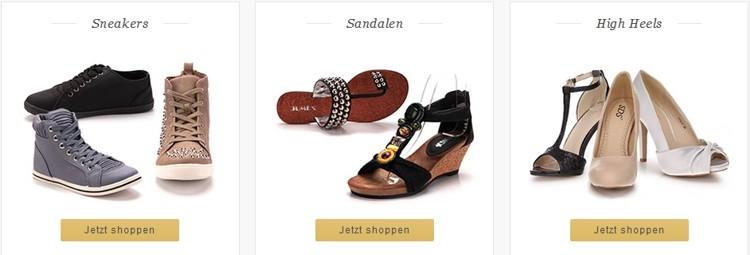 Schuhtempel24 Schuhsortiment